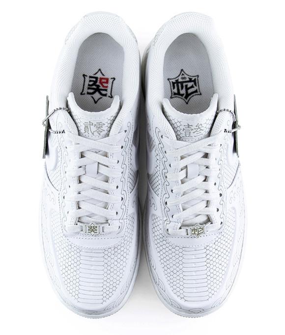 Nike Air Force 1 x Zhijun Wang Snake 'Year of the Snake' 2013