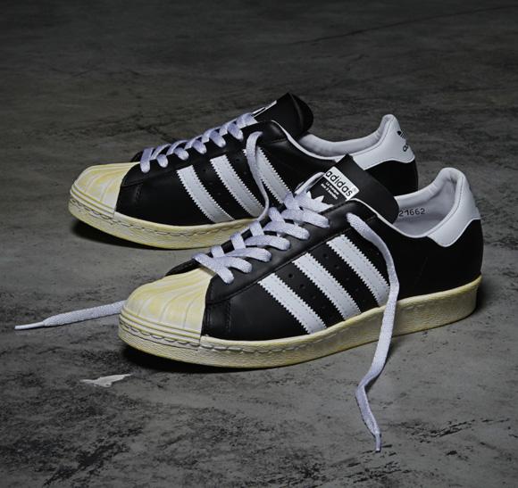 adidas Originals x mita sneakers superstar 80s shell toe 2013