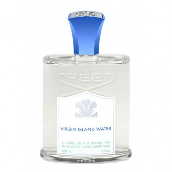 Best Summert Fragrance for Men, CREED Virgin Island Water - smell of coconut and lime