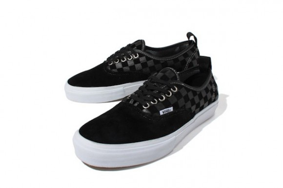 333f957848 Vans Syndicate Authentic  69 Pro S checked pattern shoes