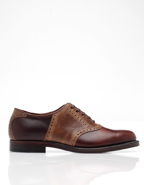 Alden for Need Supply Co. Sheppard Street Saddle brogue