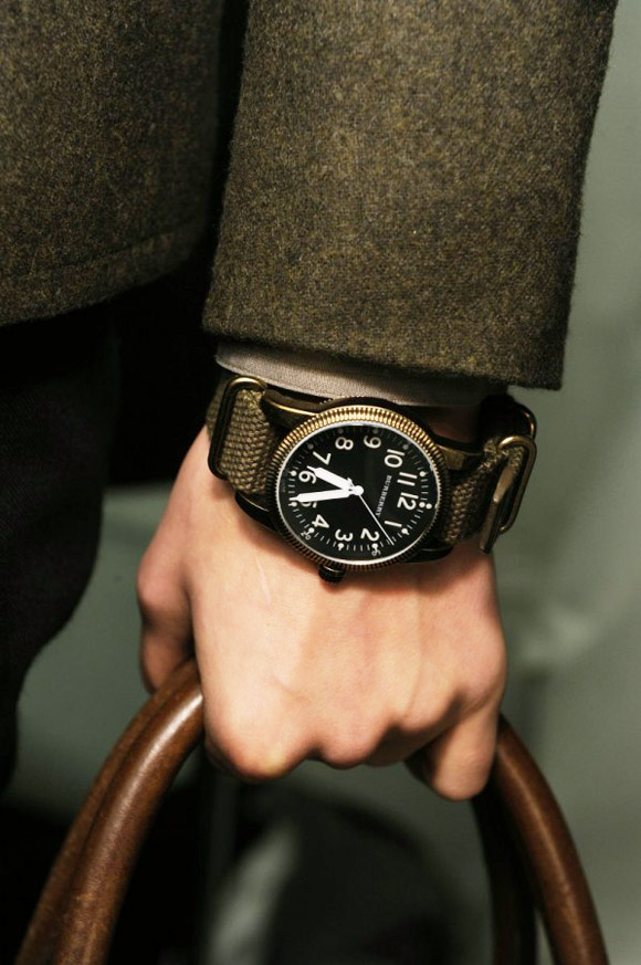 Burberry Watch with Nato Strap FW10
