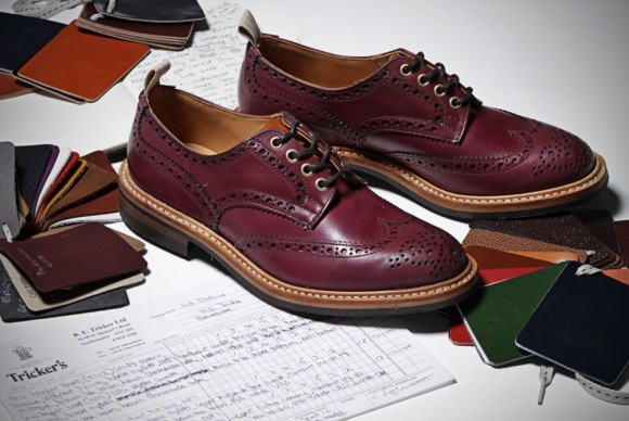 Tricker's x End Hunting Co. Oxblood Brogues & Boots 2013 Release