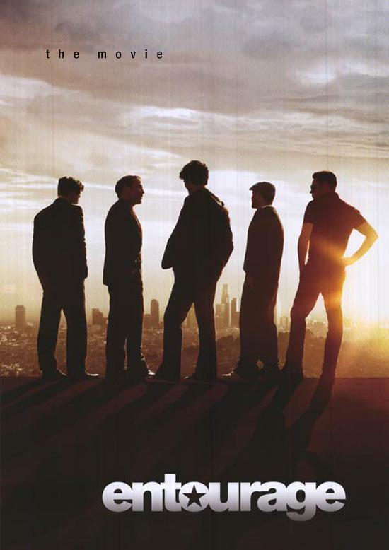 Entourage Warner Brothers Movie Poster 2013 (fake)