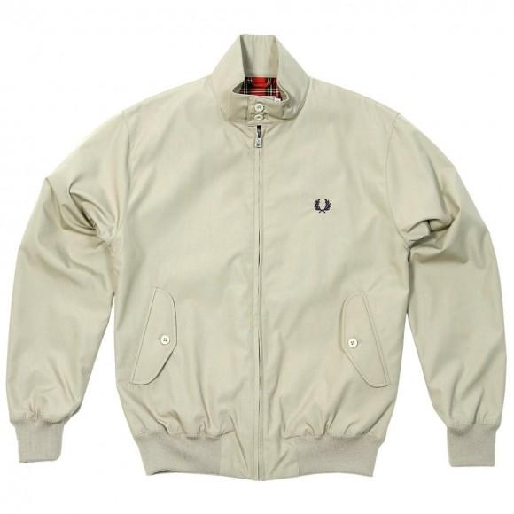 Fred Perry Harrington Varsity Style Jacket without the Varsity Colors