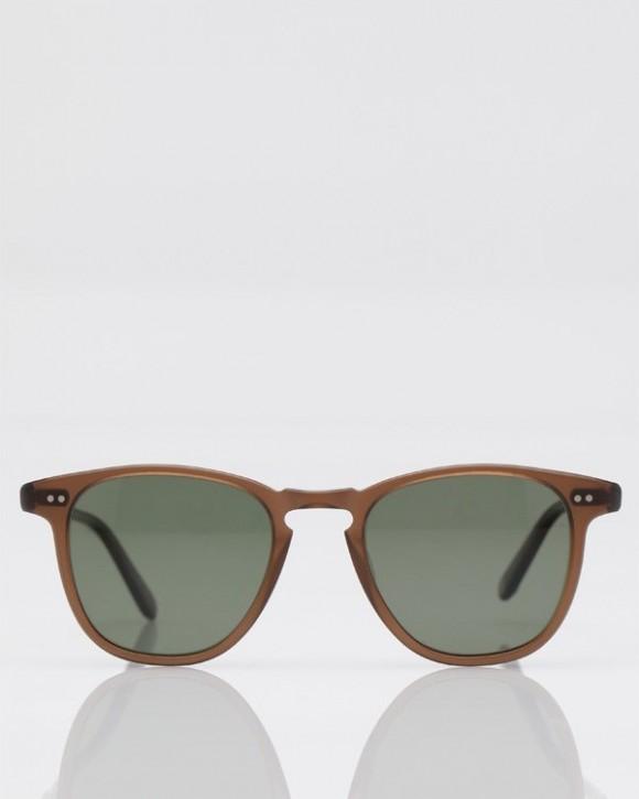 Garrett Leight Brooks Matte Espresso sunglasses