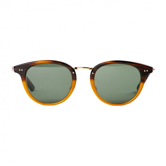 Best Sunglasses for Men - Globe Specs x Beauty & Youth sunglasses, gold bridge oak tear frames