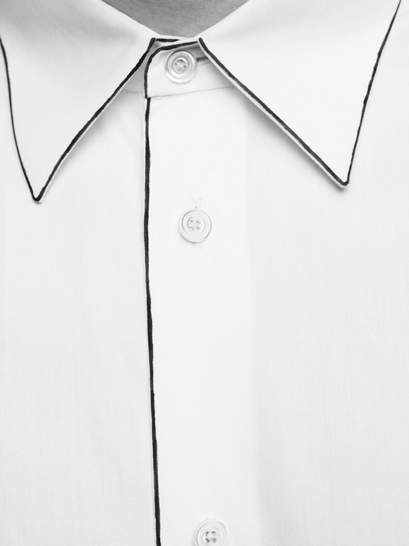 Hermès fall/winter 2012/13 collection thin outline dress shirt