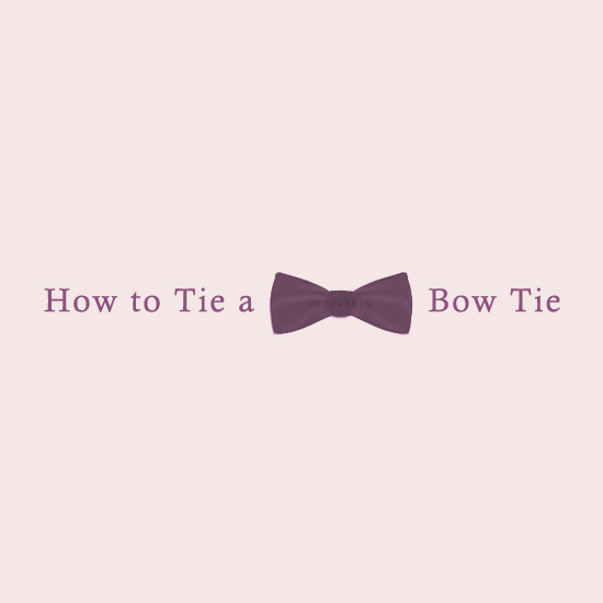How to Tie a Bow Tie GIF Instructional Funny Stop Motion Animation