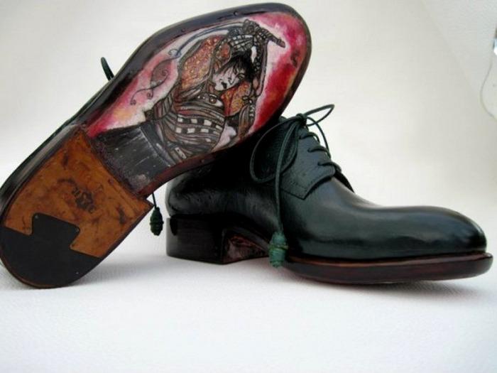 Ivan Crivellaro samurai sole lace up