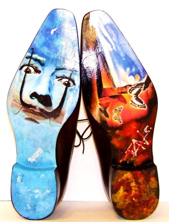 Ivan Crivellaro beautiful unique expensive hand made custom sole