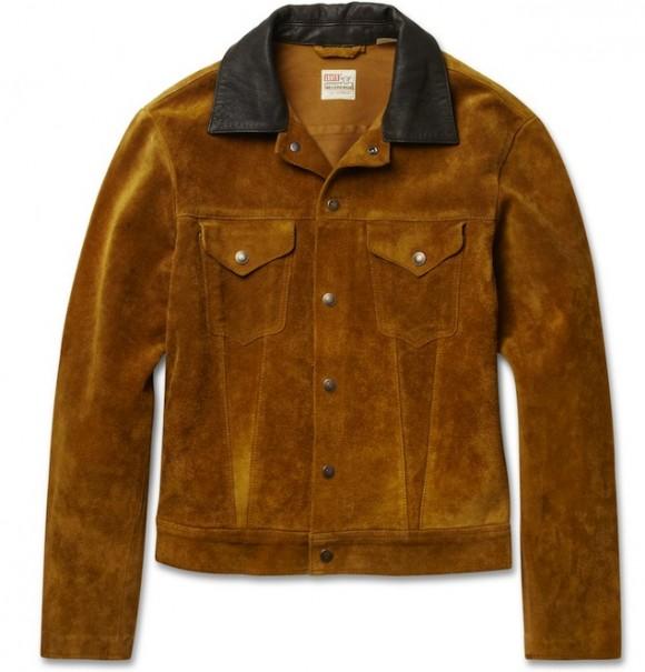 Levi's 1950s Vintage Suede Trucker Jacket