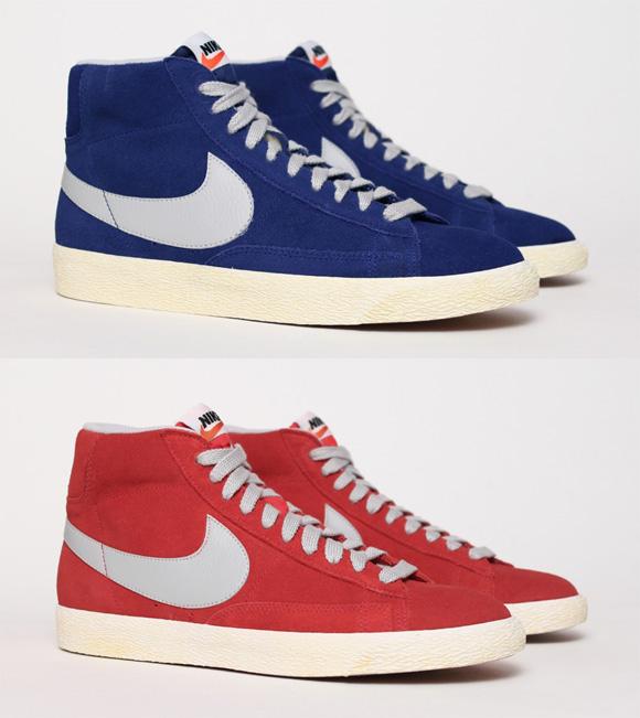 7e2bc1f098 Nike Blazer Mid VNTG s Swoosh goes Grey