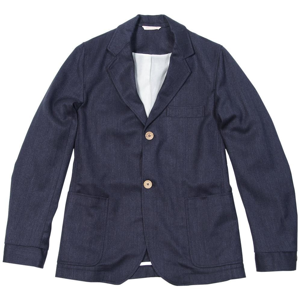 Olive Spencer Oxford Jacket in Bridlington Navy