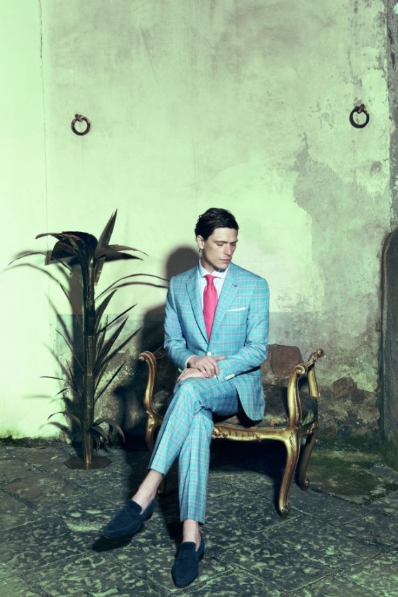 Isaia Tie Suit Tie Combo Isaia Ss13