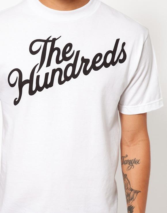 Forever Slant T-Shirt by The Hundreds
