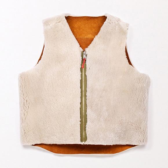 Shearling Wool Vest