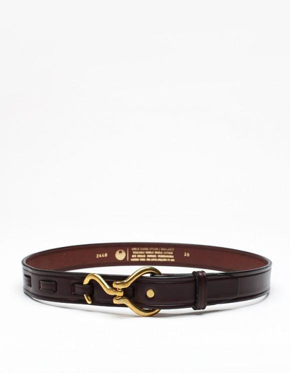 Apolis Hoofpick Belt in Brown Leather
