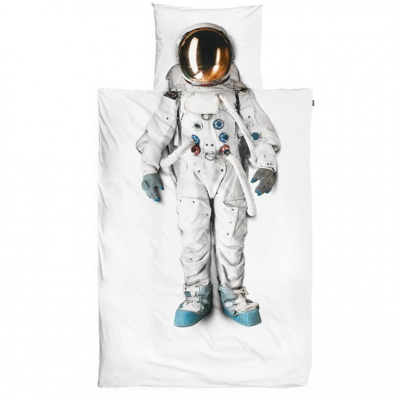 Astronaut Pillow Case & Bed Sheets