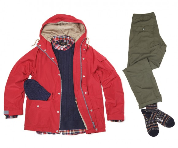 Beams Plus Japanese Fashion SS13 Collection Chinos Jacket Outerwear