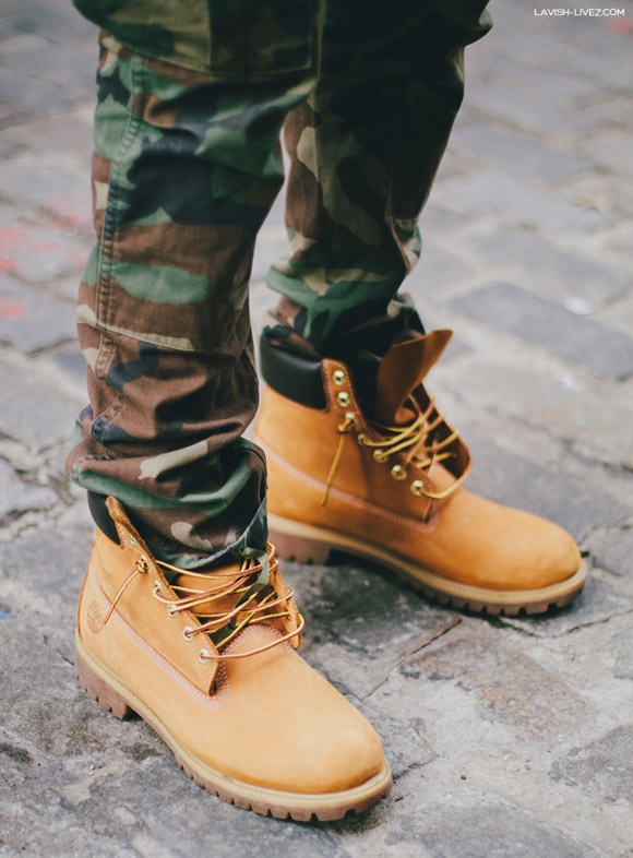 Camo Pants in Boots