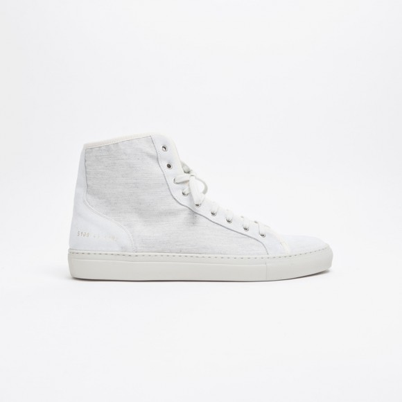 Common Projects Tournament Hi Very Clean Very Off White