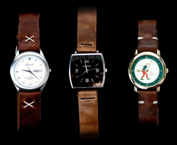 Cool & Cheap Vintage Watches x Leather Straps