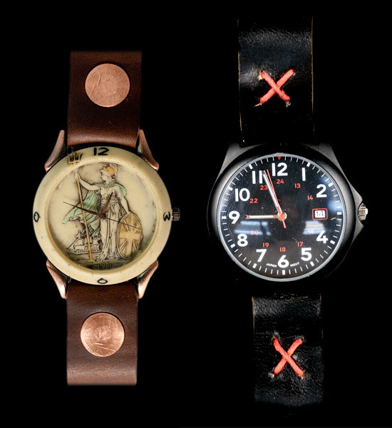 Cool & Cheap Vintage Watches x Leather Straps 3
