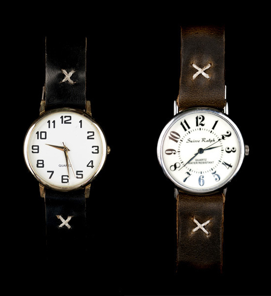Cool & Cheap Vintage Watches x Leather Straps 4