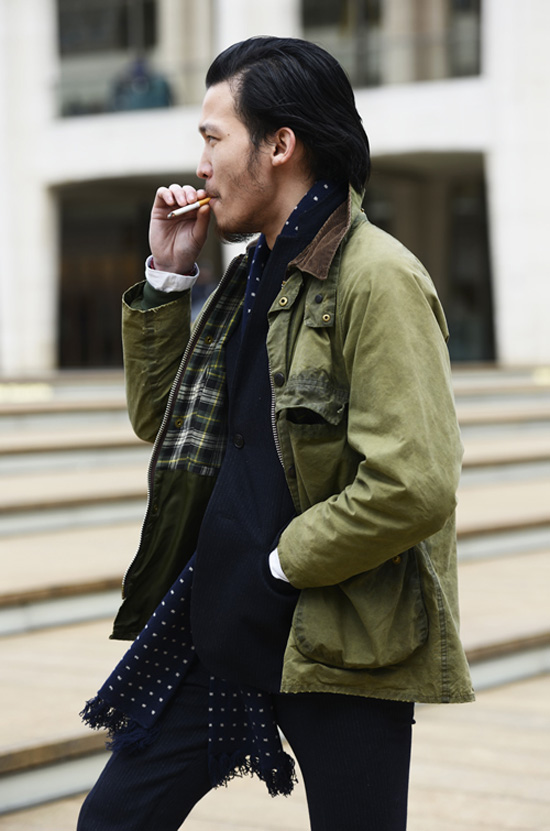 Cool Style Cigarette Smoking Asian Man Soletopia