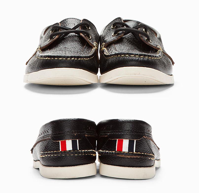 Thom Browne Wingtip Brogue Dress Shoes | UpscaleHype