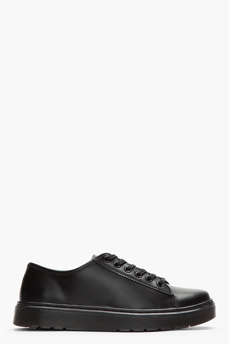 Dr. Martens black sneaker shoe