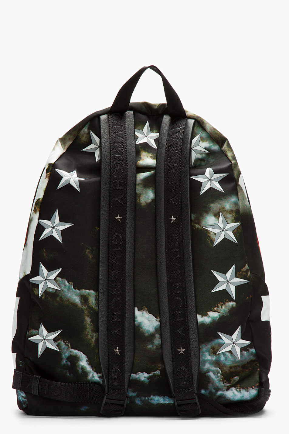 Fearless Leather Trimmed Backpacks from Givenchy | SOLETOPIA