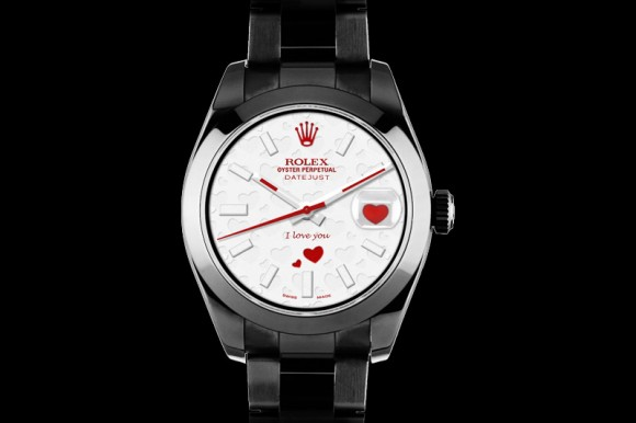 Rolex Bamford Watch Department Valentine's Day Watch