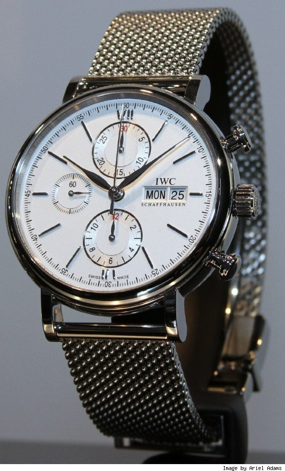 IWC Portofino Chronograph Milanese/Mesh/Rice Bracelet