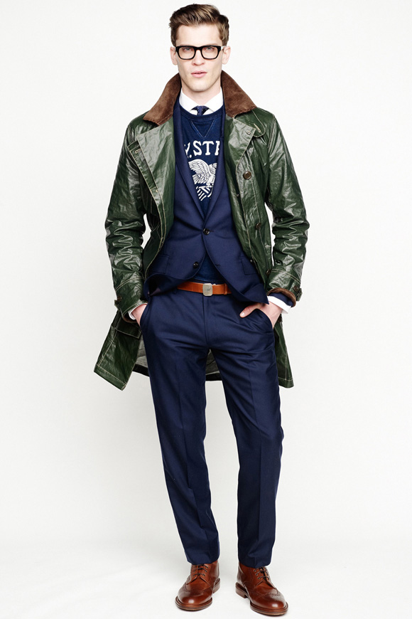 must see j crew s swagged out menswear collection fw13 soletopia