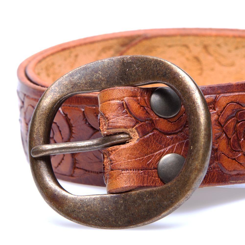 Levi's Vintage Belts SS13 Embossed Rose 3