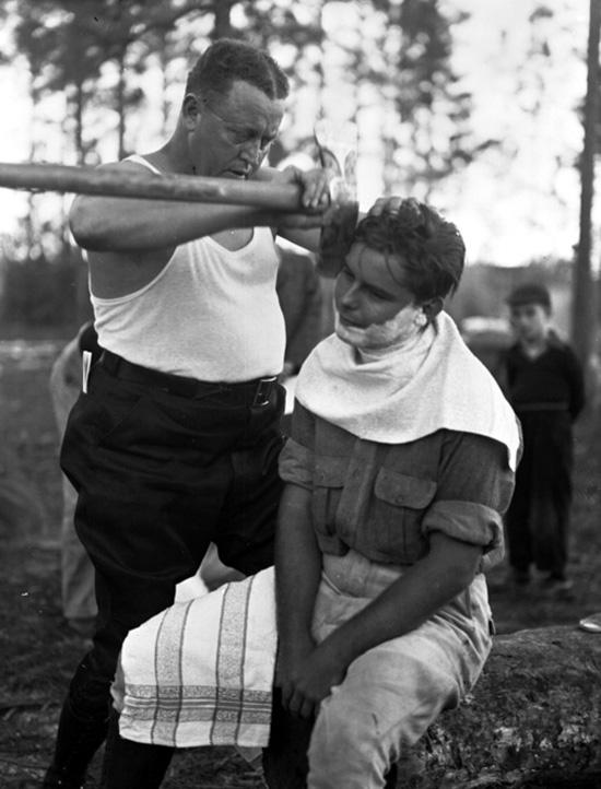 Shave Like a Man & Use an Axe