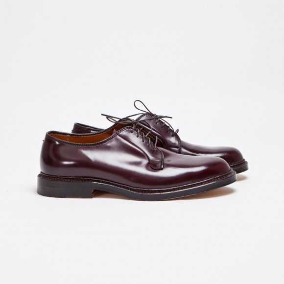 The Alden Cordovan Plain Toe Burgundy 1