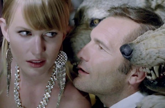 AXE Wolf Coat Commercial Woman Man and Wolf