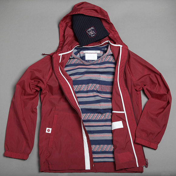 White Mountaineering Jacket from their new 2013 collection ss