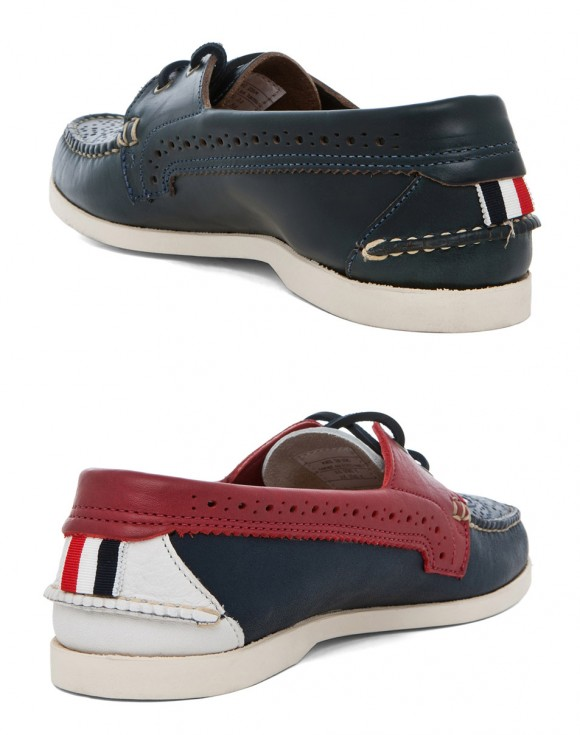 Wingtip and Moc Toe in One Boat Shoe