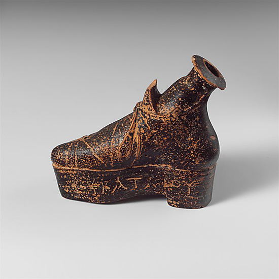 1st Century BC Shoe Shaped Perfume Flask