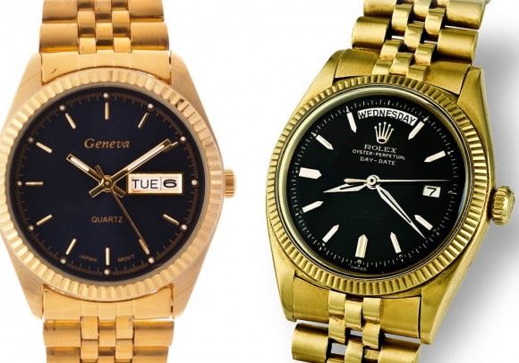 Rolex Style Geneva Watch for Men, Day Date Jubilee Bracelet