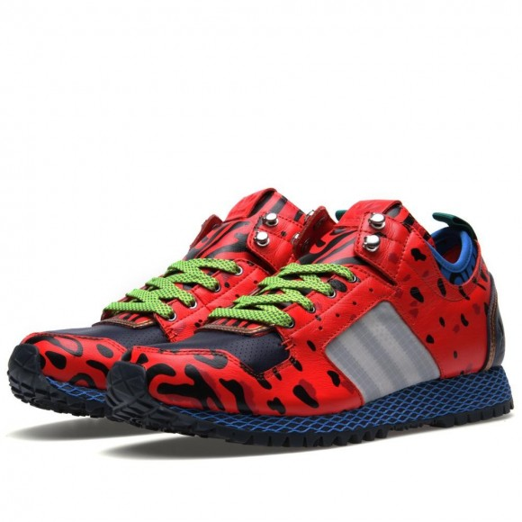 adidas x Opening Ceremony New York Run Poison Frog Print in Red