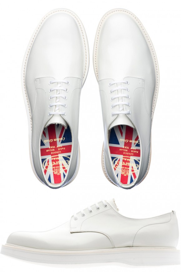 All White British Derby Union Jack