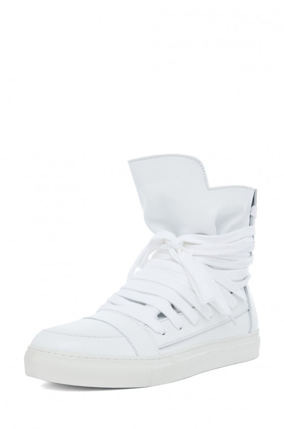 All White shoes men style