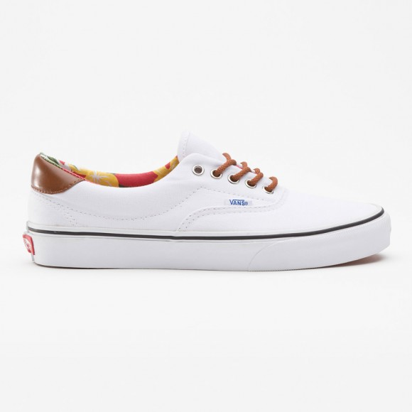 Aloha C&L Era true white sneakers Vans