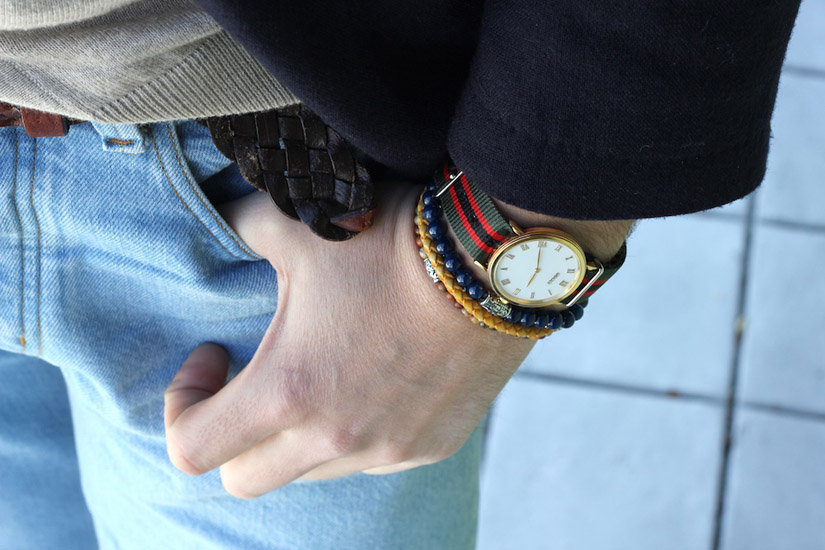 Bracelets canvas watch strap woven belt