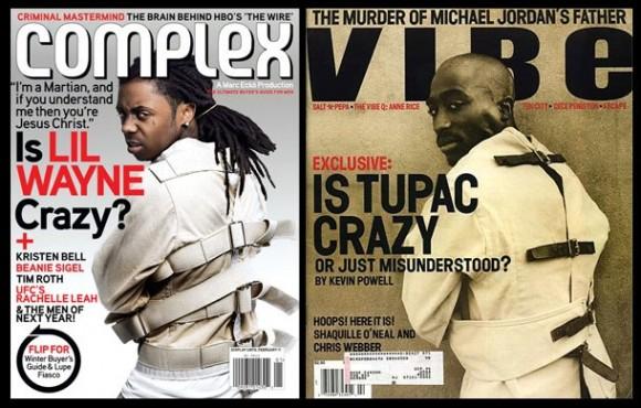 Complex copies Vibe 2pac Lil Wayne